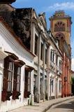 Colombia, Mening op oud Cartagena Stock Afbeeldingen