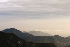 Colombia - Mountains in the Sierra Nevada de Santa Marta Stock Photos