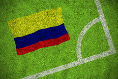 Colombia national flag Royalty Free Stock Photos