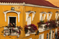 Colombia. The nice city of cartagena Stock Photos