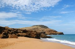 Colombia, Pilon de azucar beach in La Guajira Stock Photography