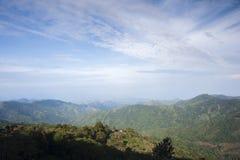 Colombia - rainforest i toppig bergskedja Nevada de Santa Marta Arkivfoton