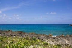 Colombia - San Andres Island, Caribic - kustlinje Royaltyfri Foto