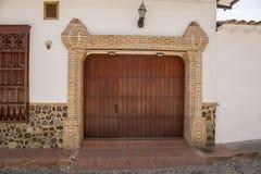 Colombia - Santa Fe de Antioquia - Historic colonial architecture Stock Photo