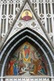 Colombia, santuario de la Virgen de Las Lajas fotos de archivo