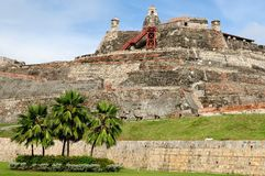 Colombia, View on the old Cartagena Stock Images