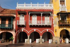 Colombia, View on the old Cartagena Royalty Free Stock Photos