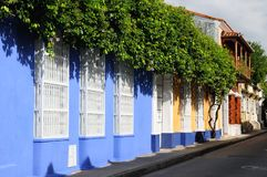 Colombia, View on the old Cartagena royalty free stock image