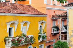 Colombia, View on the old Cartagena royalty free stock photo