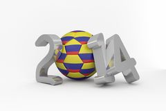 Colombia world cup 2014 Stock Photos