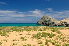 Colombian beach Stock Photo