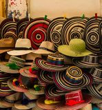 Colombian beautiful hat Royalty Free Stock Photos