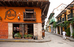 Colombian buildings Stock Photo
