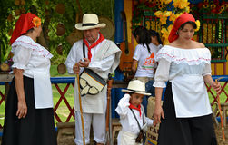 Colombian Campesinos Royalty Free Stock Images