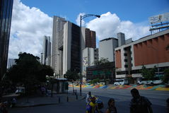 Colombian city of Medellin Stock Images
