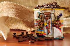 Colombian coffee. Royalty Free Stock Images