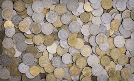 Colombian coins Royalty Free Stock Images