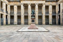 Colombian Congress Courtyard View Royalty Free Stock Photography