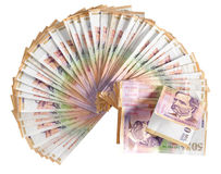 Colombian currency. Isolated Royalty Free Stock Photos