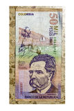 Colombian Currency on Tile Stock Photos