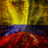Colombian flag Stock Image