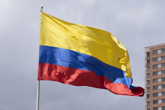 Colombian Flag Royalty Free Stock Photos