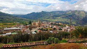 Colombian Landscape Royalty Free Stock Images
