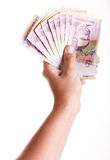 Colombian money stock photography