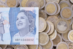 Colombian money Royalty Free Stock Image