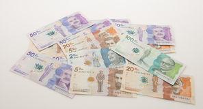 Colombian Money Stock Photo