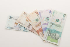 Colombian Money Stock Image