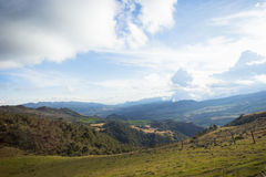 Colombian mountains. Landscape showing colombia rural areas Stock Photos