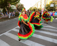 Colombian national costumes parade