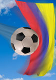 Colombian Soccer. Royalty Free Stock Photo