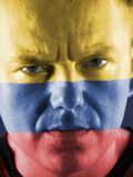 Colombian supporter Stock Photo