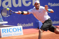 Colombian tennis player Robert Farah Stock Photos