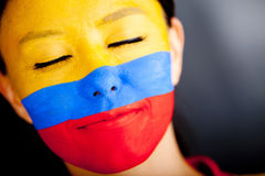 Colombian woman Royalty Free Stock Photos