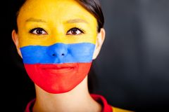Colombian woman Stock Image