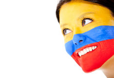 Colombian woman smiling Royalty Free Stock Photography