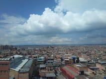 Colombiana do capital da cidade do ¡ de Bogotà imagens de stock royalty free