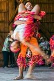 Colombianska dansare 2 Arkivbild