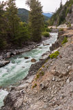 Colombie-Britannique Canada de fleuve de Squamish Photographie stock