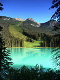 Colombie-Britannique, Emerald Lake, Yoho NP Photo stock