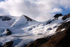 Colombie Icefield images libres de droits