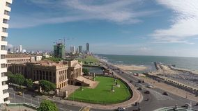 colombo stock video footage