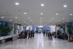 Colombo airport international terminal interior royalty free stock photography