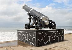 Colombo artillery on the seashore Royalty Free Stock Photography