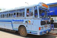 Colombo Central Bus Terminal Sri Lanka royaltyfria bilder
