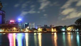 Colombo city timelape stock video
