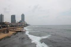 Colombo Coast Sri Lanka stockfotos